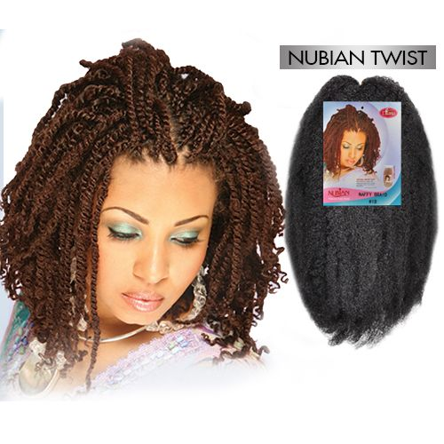 Nubian twist for Salon locks twists tresses