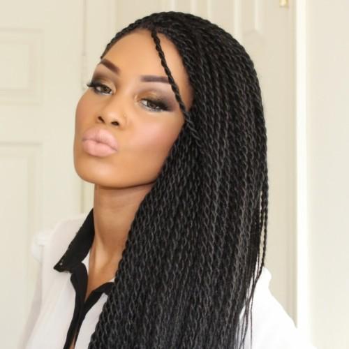 Sensational Senegalese Twist Short Hairstyles Gunalazisus